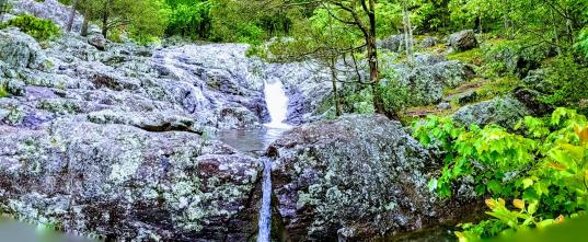 Small cascade @ Mina Sauk Falls.